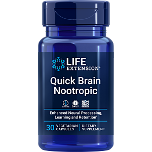Quick Brain Nootropic 30cps Life Extension