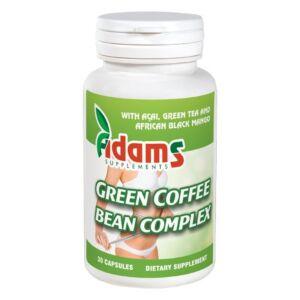 Green Coffee Bean Complex 30 capsule Adams Vision