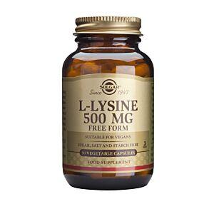 L-lysine  500MG 50 capsule vegetale  - Solgar