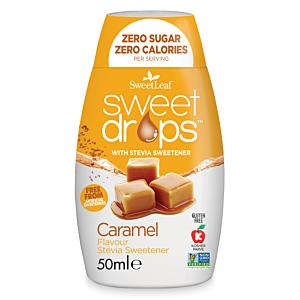 Sweet Drops - Indulcitor Stevie cu Caramel 50ml