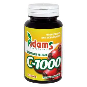 C-1000 cu macese 60tablete Adams Vision