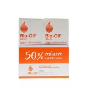 Pachet 2 x Ulei pentru corp si fata Bio-Oil, 60 ml