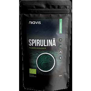 Spirulina pulbere Ecologica/Bio 125g-Niavis