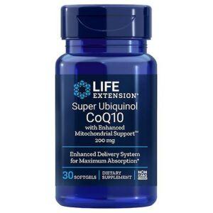 Super Ubiquinol CoQ10 with Enhanced Mitochondrial LifeExtensionn