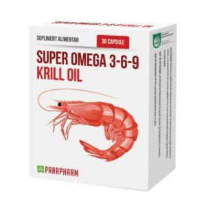 Super Omega 3-6-9 Krill Oil 30 capsule-PARAPHARM