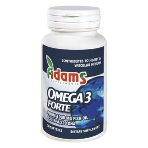 Omega3 Forte 330 EPA 220 DHA 30 cps. Adams Vision