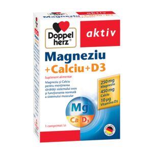 Magneziu + Calciu + D3, 30 comprimate Doppleherz