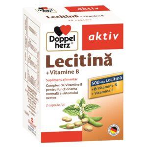 Lecitină + Vitamine B, 40 capsule Doppelherz
