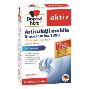 Articulații mobile Glucozamină 1200, 30 comprimate Doppleherz