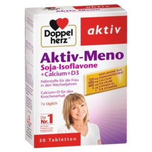 Aktiv Meno Soia   Calciu Vitamina D3, 30 cpr Doppelherz