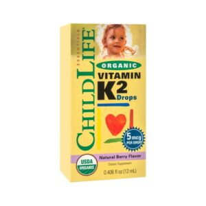 Vitamin K2 (copii) 15 mcg Secom