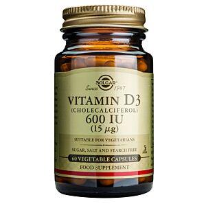 Vitamina D3 600ui (Colecalciferol) (15 µg) - 60 capsule vegetale