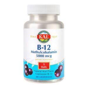 Methylcobalamin (Vitamina B12) 5000mcg 60 comprimate Secom