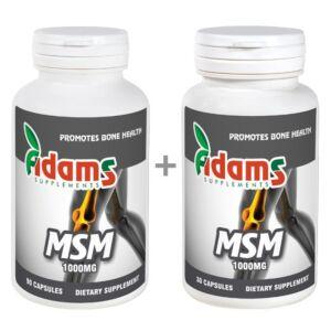 Pachet MSM 90cps.+MSM 30cps Adams Vision