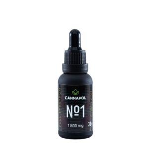Ulei canabis CBD Cannapol No.1 5%, 30g