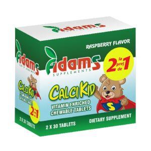 Pachet CalciKid 30tablete Adams Vision