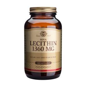 LECITHIN 1360MG 100CPS MOI