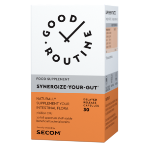 Synergize-Your-Gut 30cps Secom