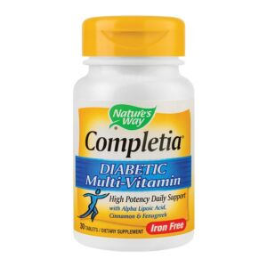 Completia Diabetic Multi-Vitamin 30 capsule
