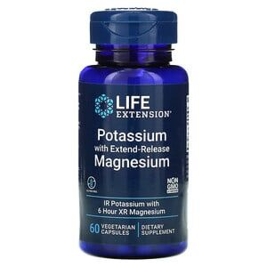 Potassium with Extend-Release Magnesium - 60 cps Life Extension
