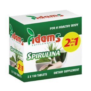 Pachet Alga Spirulina 400mg 150tab Adams Vision