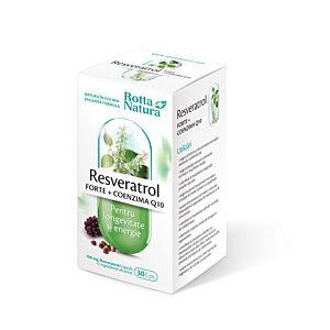 Resveratrol Forte+CoQ10 30cps Rotta Natura