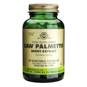 Extract din fructe de palmier pitic - 60 capsule vegetale