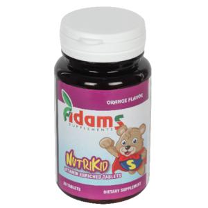 NutriKid 30tablete masticabile Adams Vision