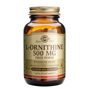 L-ornitină - 50 capsule vegetale