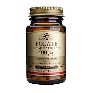 FOLATE (AS METAFOLIN) 400MCG 50 TABS