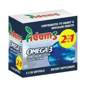 Pachet Omega 3 1000mg adams