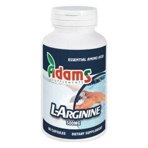 L-Arginine 500mg 90cps. Adams Vision
