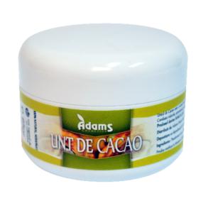 Unt de Cacao Bio (din cultura ecologica) 65gr Adams Vision