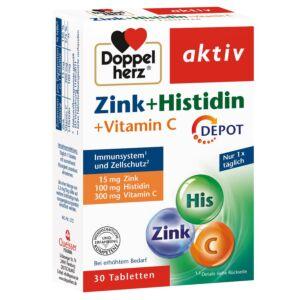 Zinc + Histidină + Vitamina C DEPOT, 30 comprimate Doppelherz