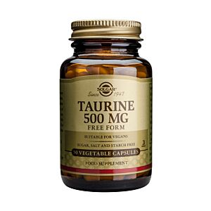 Taurina 500mg 50 veg caps