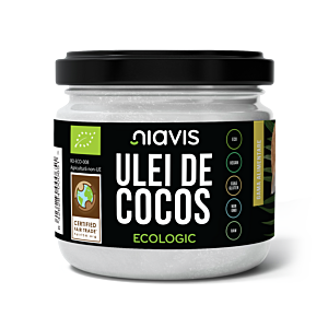 ULEI DE COCOS EXTRA VIRGIN ECOLOGIC/BIO 200G/220ML