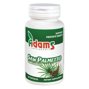 Saw Palmetto 500mg 60 capsule Adams Vision