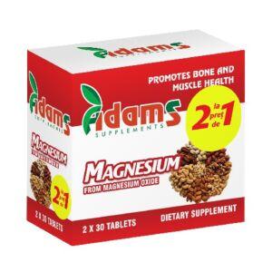 Pachet Magneziu 375mg 30 tab Adams Vision