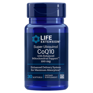 Super Ubiquinol CoQ10 cu Enhanced MitochondrialSupport100mg30cps