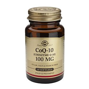 COENZIMA Q-10 100mg 30 capsule moi-SOLGAR