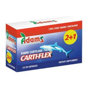 Pachet Carti-Flex (Cartilaj de Rechin) 740mg Adams Vision