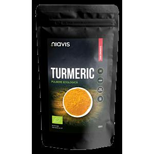 Turmeric pulbere Ecologica/Bio 125g-Niavis