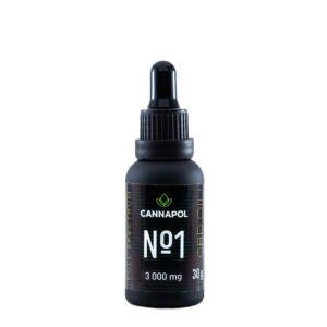 Ulei canabis CBD Cannapol No.1 10%, 30g Adams Vision