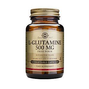L-GLUTAMINE 500MG 50VEG CAPS
