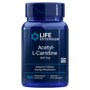 acetyl l carnitine life extension