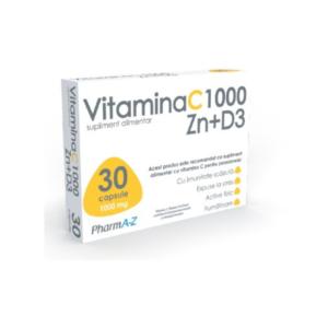 Vitamina C1000 Zn+D3 PharmA-Z