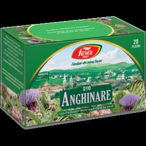 Anghinare, frunze, D110, ceai 20 plicuri Fares