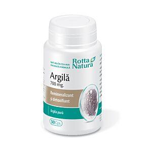 Argilă 700 mg 30cps Rotta Natura