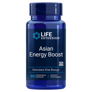 Asian Energy Boost 90 capsule - Life Extension