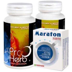 Pachet 2 X ProHerb + Maraton 4cps Adams Vision